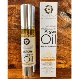 Marokkanisches Arganöl – Süssorange