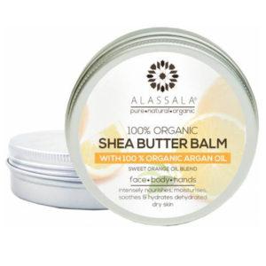 Sheabutter Balsam mit Arganöl & Süssorange