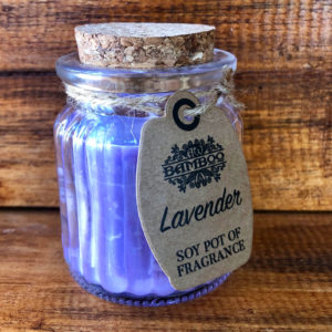Sojakerze – Lavendel