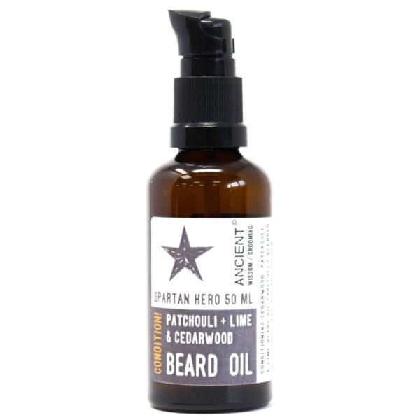 Spartanischer Held Bartöl Produktbild