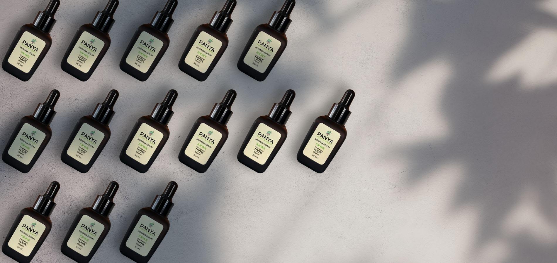 Moringa Serum für die Hautpflege - onpure
