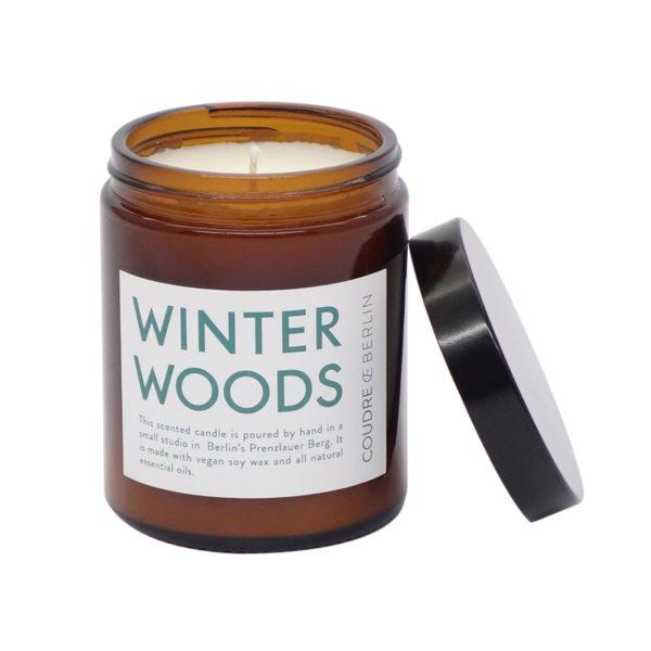 Sojawachskerze Winter Woods bei onpure