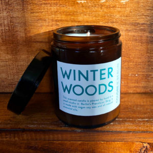 Winter Woods – Aromatherapie Sojakerze